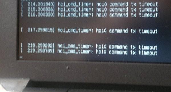 Bluetooth errors